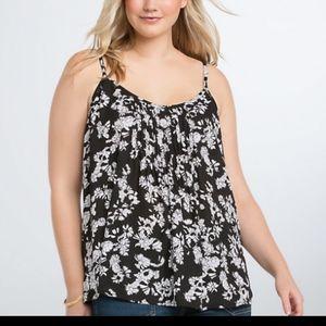 Torrid tank blouse
